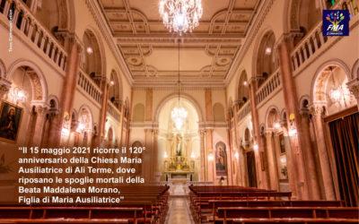 120° della Chiesa Maria Ausiliatrice di Alì Terme