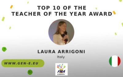 Laura Arrigoni nella top ten docenti