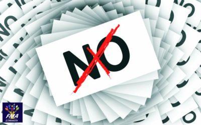 "La cultura del ""non"" no"