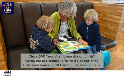 La carica dei 300 nonni di comunità